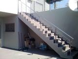 Ανοξείδωτο κιγκλίδωμα σκάλας